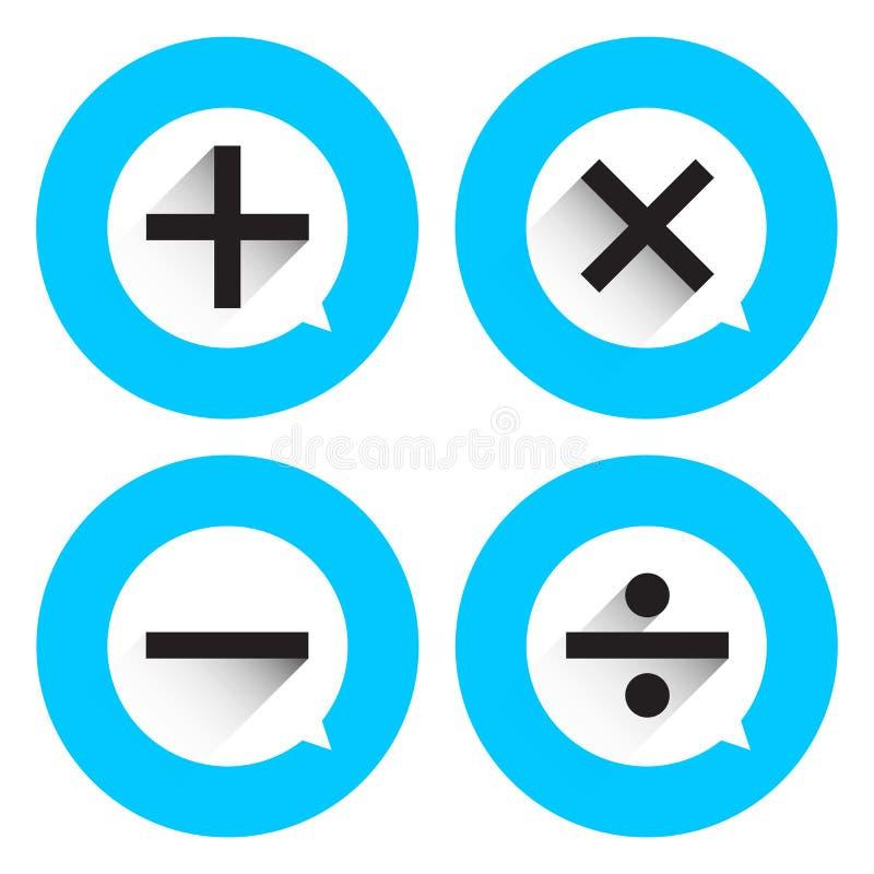 Download Matemático básico ilustração do vetor. Ilustração de preto - 65581412