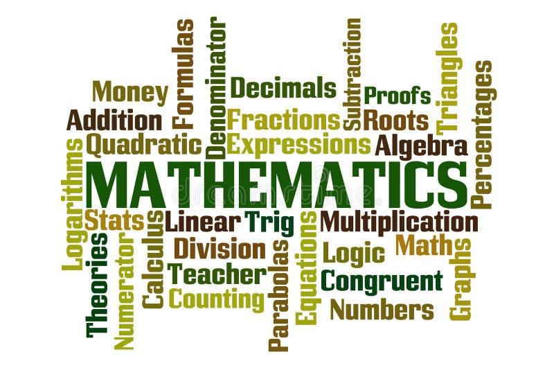 matematik royaltyfri illustrationer