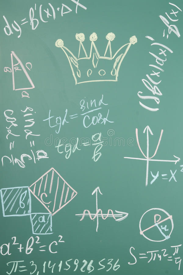 matematik royaltyfri fotografi