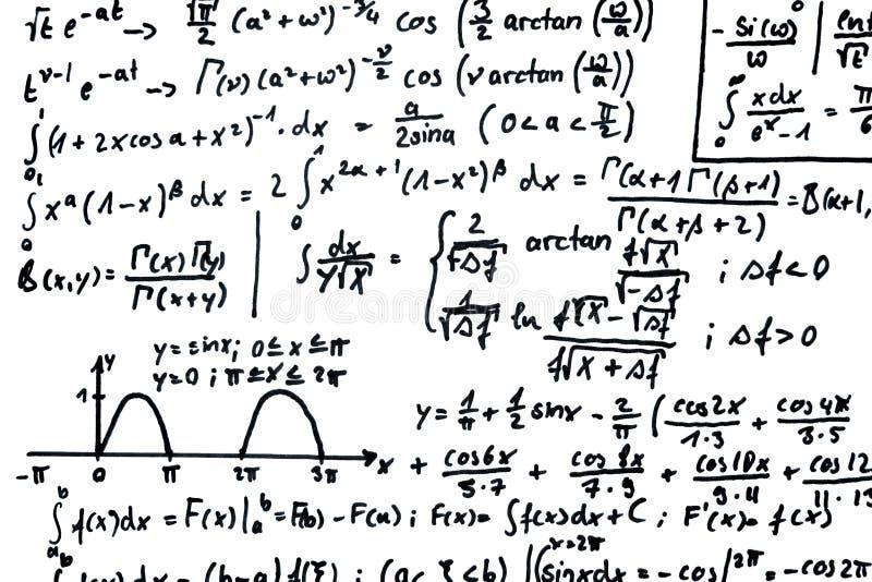 matematik stock illustrationer