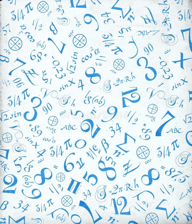 matematisk prydnad stock illustrationer