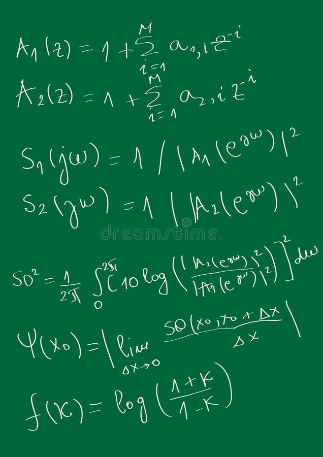 matematycznie royalty ilustracja