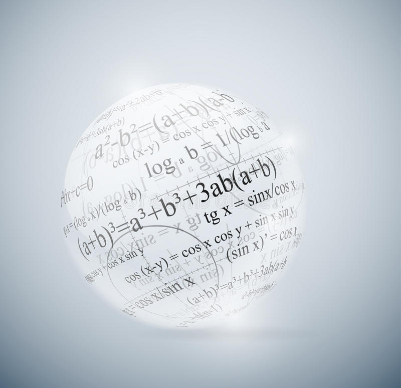 matematycznie sfera ilustracji