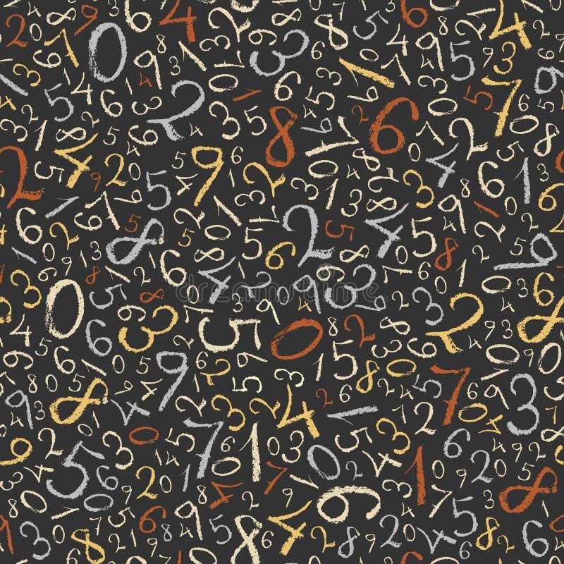 Matematyki abstrakcjonistyczny tło. ilustracji