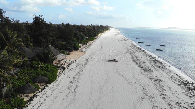 Matemwe Strand, Sansibar stockbild