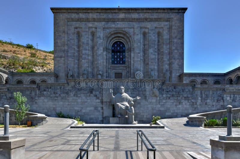 Matenadaran - Eriwan, Armenien lizenzfreie stockfotografie