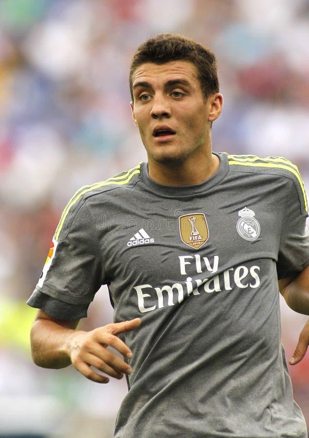 Mateo Kovacic del Real Madrid fotografia stock