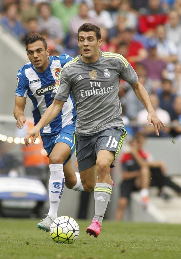 Mateo Kovacic del Real Madrid fotografia stock libera da diritti