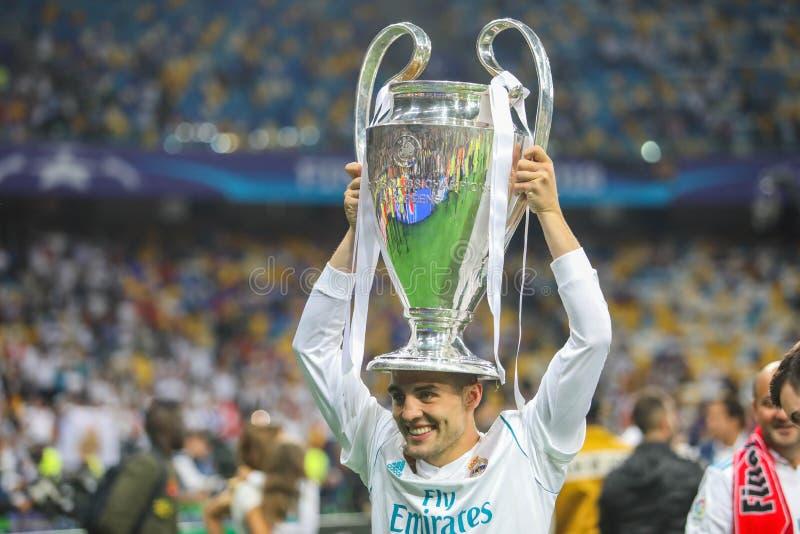 Mateo Kovacic-Fußball lizenzfreies stockbild