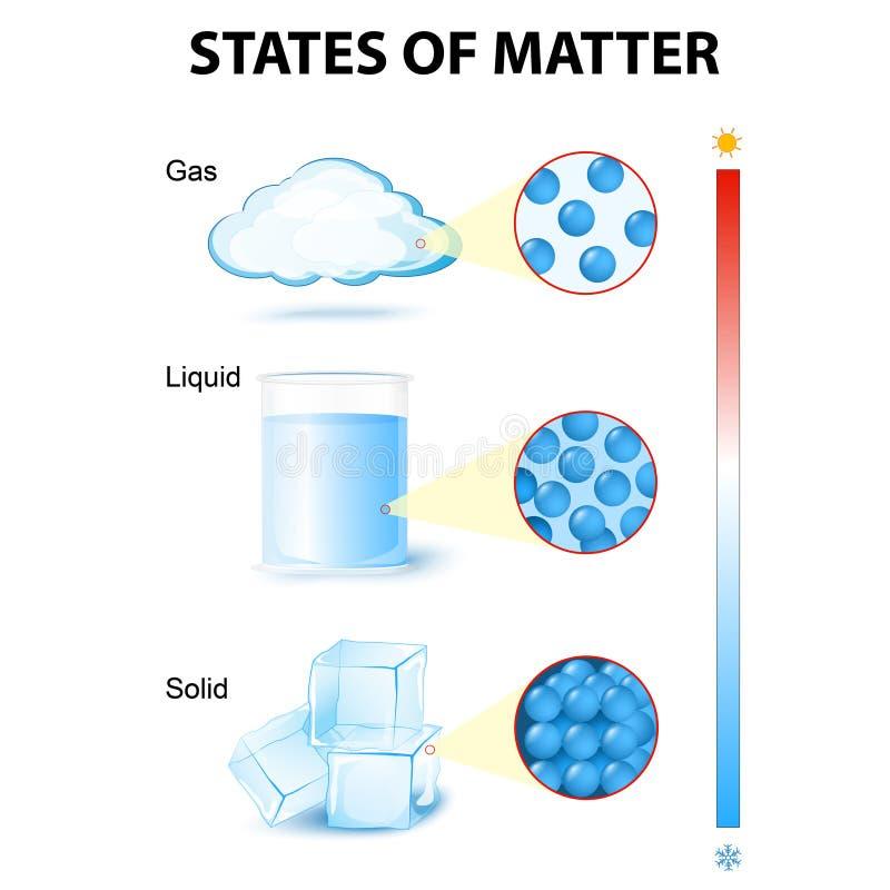 mater状态  向量例证