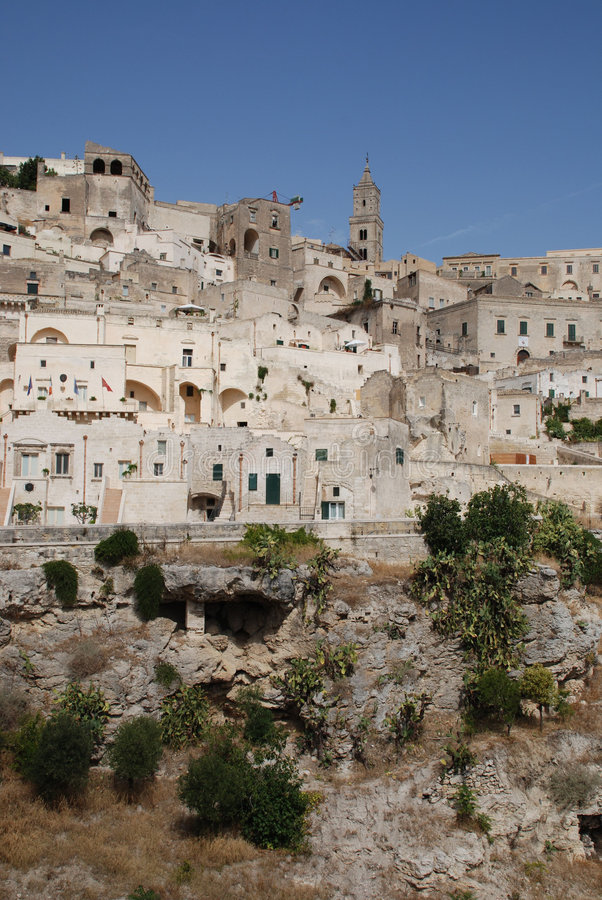 Matera, Basilicata royalty-vrije stock foto's
