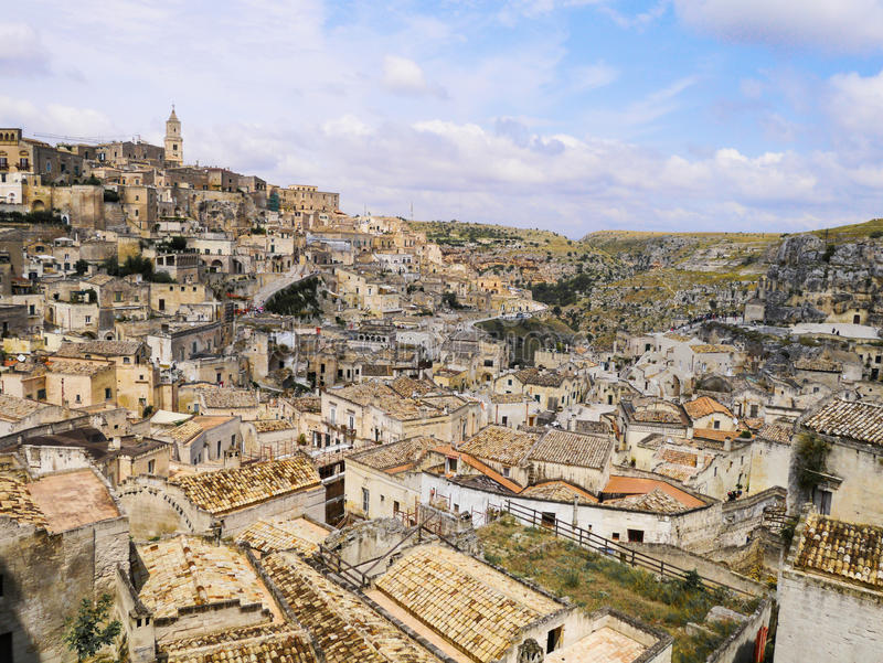 Matera, basilicata, Italië royalty-vrije stock fotografie