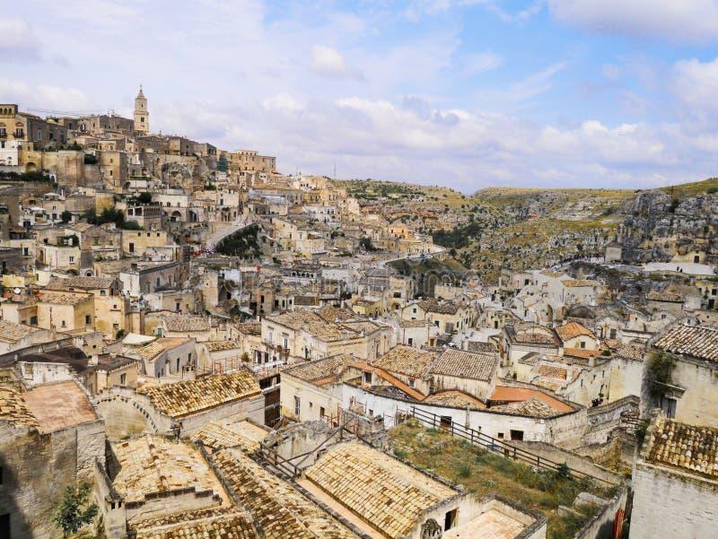 Matera, basilicata, Italia fotografía de archivo libre de regalías