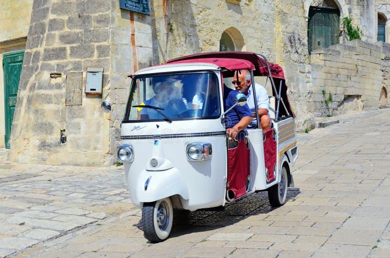Matera, Basilicata, Italia fotografie stock libere da diritti