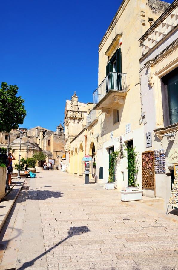 Matera, Basilicata, Italia immagini stock