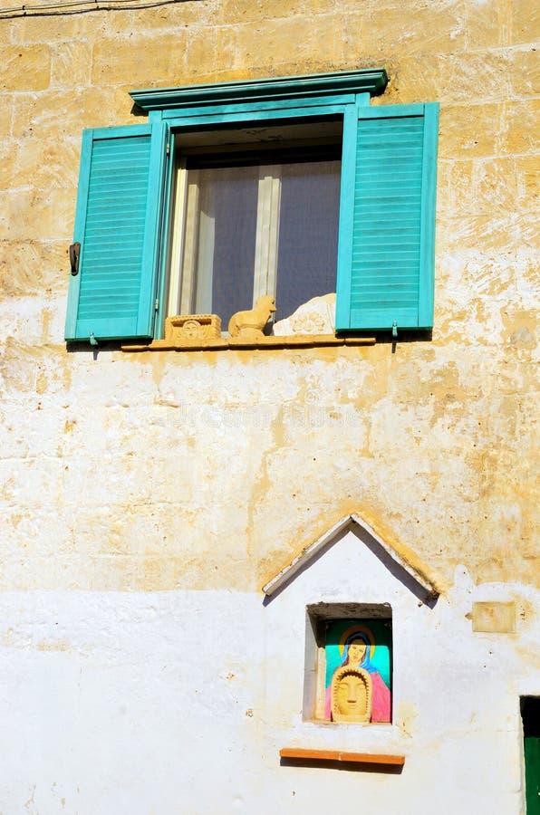 Matera, Basilicata, Italia fotografia stock libera da diritti