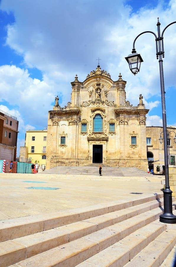 Matera, Basilicata, Italia fotografia stock