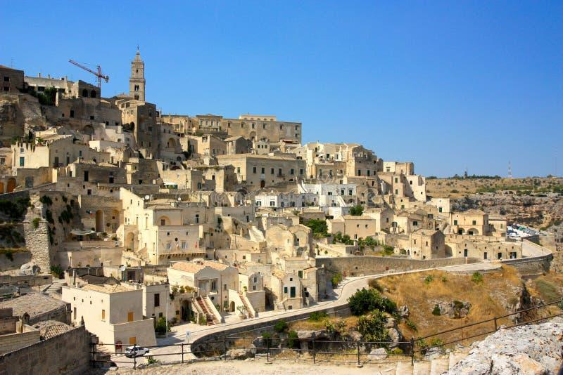 Matera, basilicata, Italy stock images