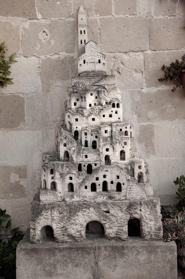 Matera, capitale europea di cultura 2019 La Basilicata, Italia immagini stock