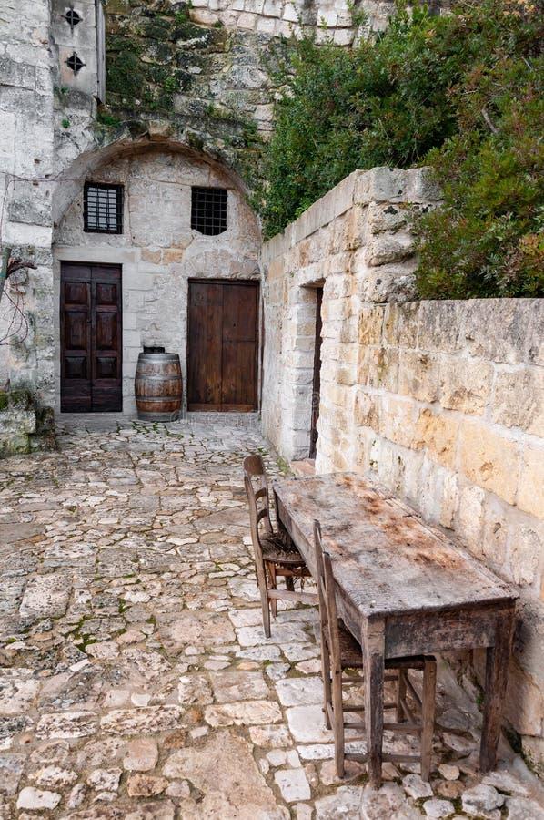 Matera, capitale europea di cultura 2019 La Basilicata, Italia fotografia stock