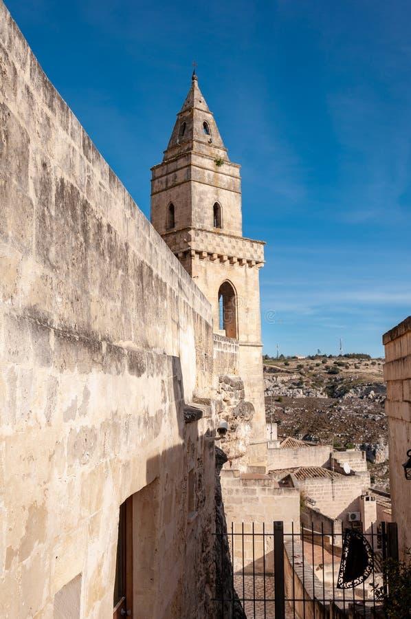 Matera, Europees kapitaal van cultuur 2019 Basilicata, Itali? stock foto