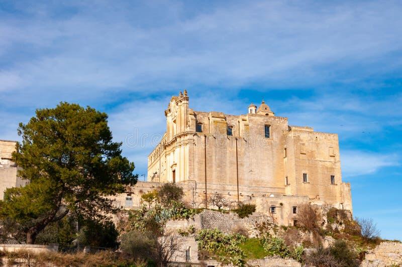 Matera, europejski kapita? kultura 2019 Basilicata, W?ochy zdjęcie stock