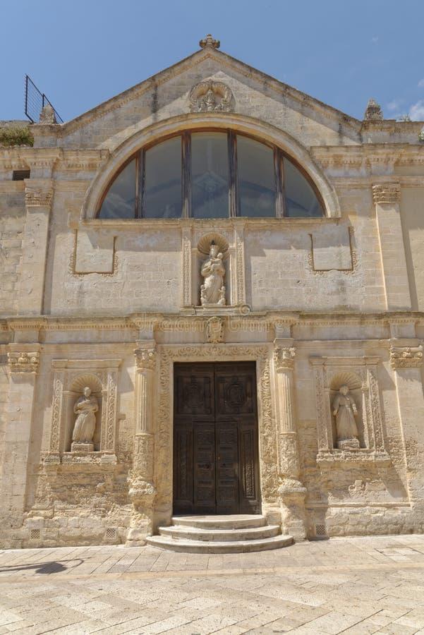Matera, Italië: Oude stad van Matera, Basilicata royalty-vrije stock afbeelding
