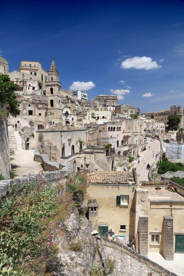 Matera, Italia fotografía de archivo libre de regalías