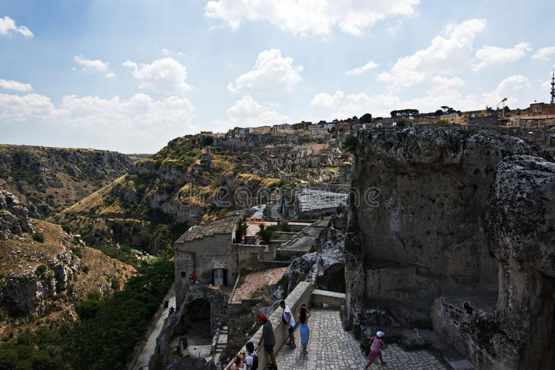 Matera, Italie photos stock