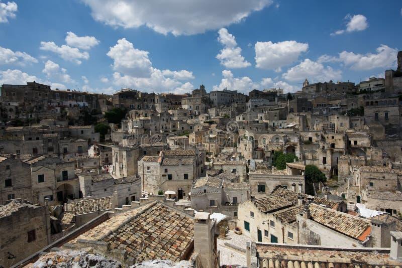 Matera, Italie photographie stock