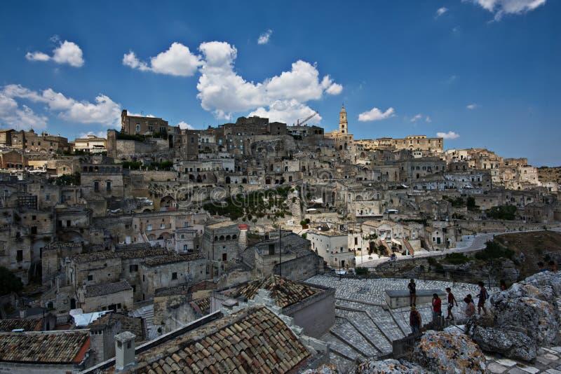 Matera, Italie images libres de droits