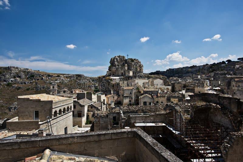 Matera, Italie photographie stock libre de droits