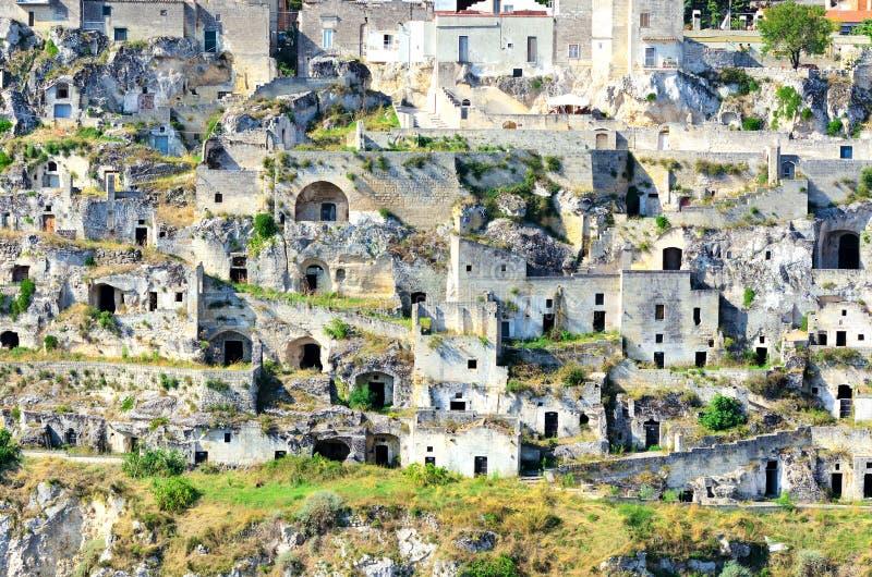 Matera Italien lizenzfreies stockbild
