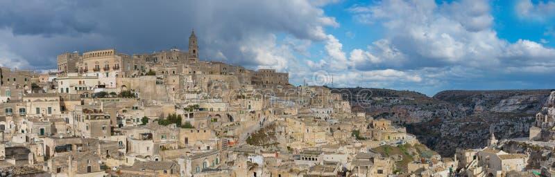 Download Matera`s Sassi Panorama - Italy Stock Photo - Image: 83706134