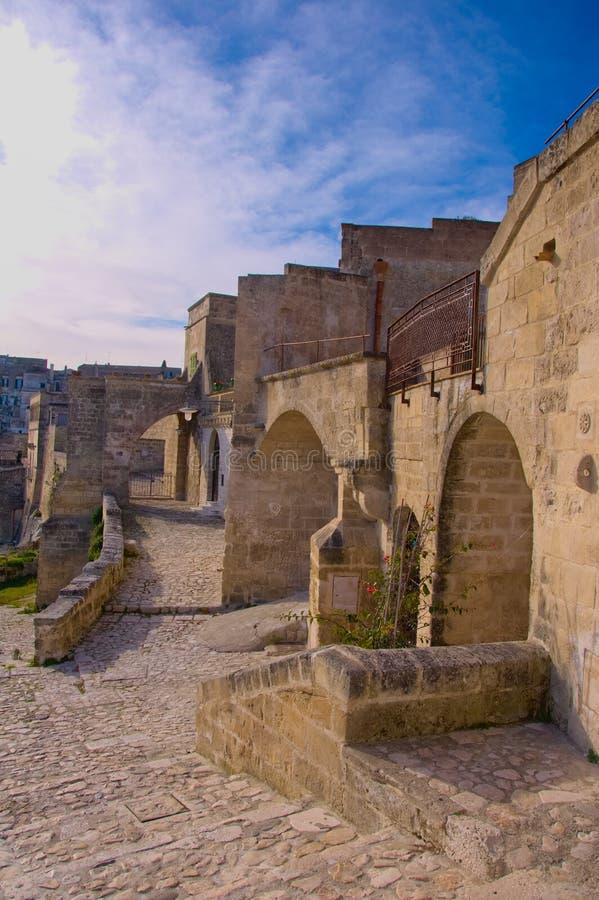 Matera stad av kultur 2019 fotografering för bildbyråer