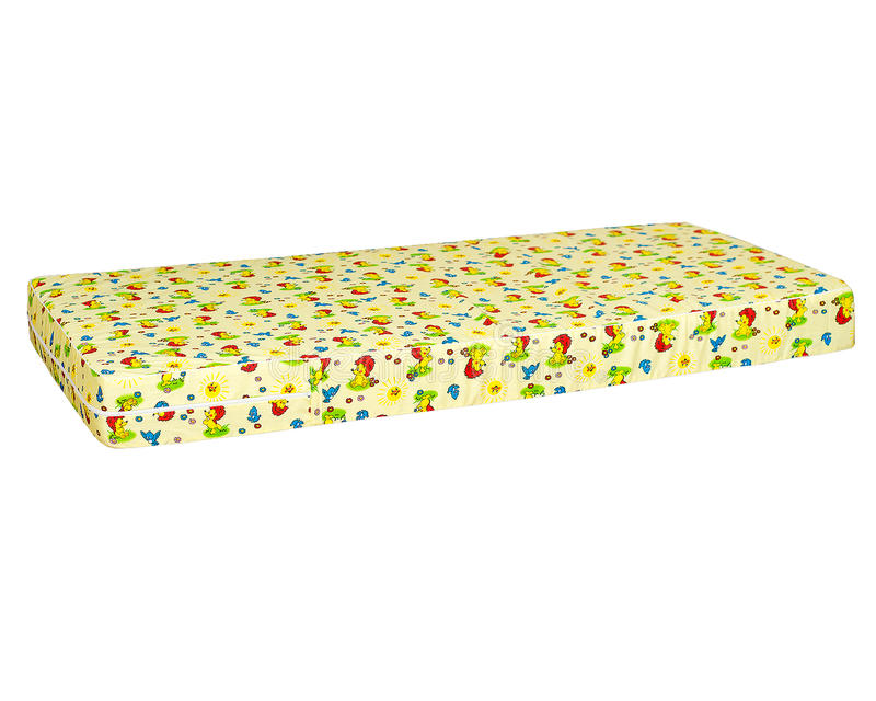 Materac na łóżku obrazy stock