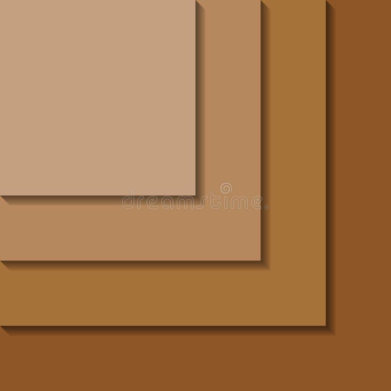 Materiële ontwerp abstracte achtergrond royalty-vrije stock afbeelding