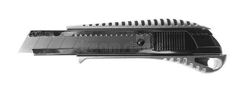 Materiały nóż obraz stock