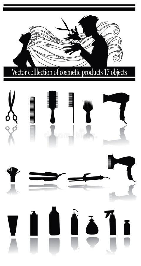 Materia del parrucchiere illustrazione di stock