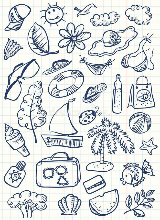 Materia del verano libre illustration