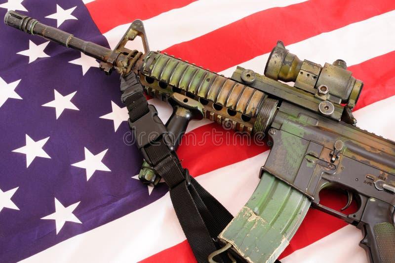 Materia militare 17 fotografia stock