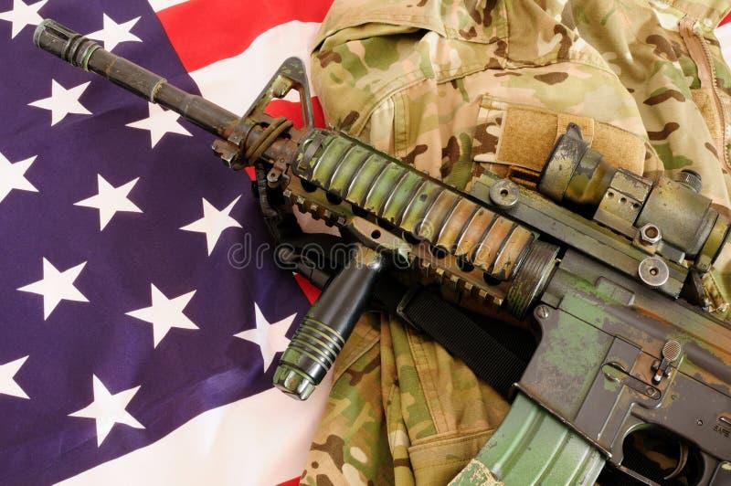 Materia militare 18 fotografia stock libera da diritti