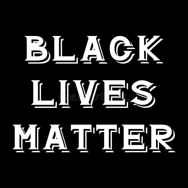 Materia negra de las vidas ilustración del vector