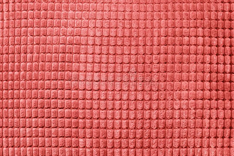 Materia textil coralina de vida Modelo de moda abstracto suave imagen de archivo
