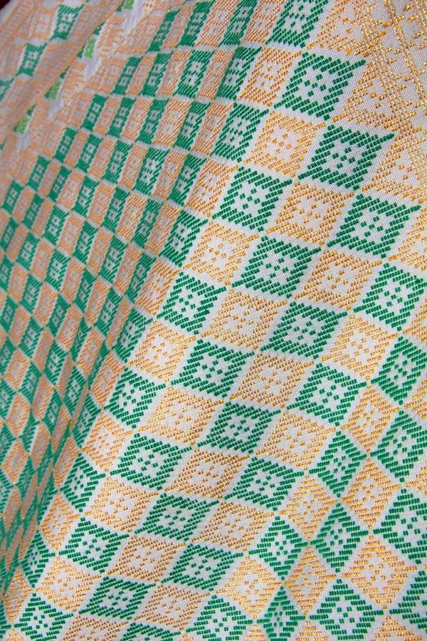 Materia textil de Dastar fotografía de archivo libre de regalías