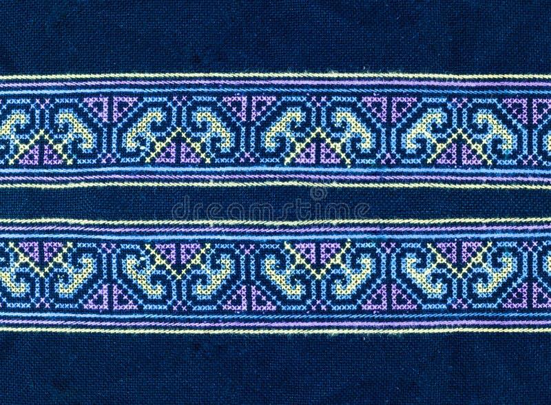 Materia textil de la tribu foto de archivo libre de regalías
