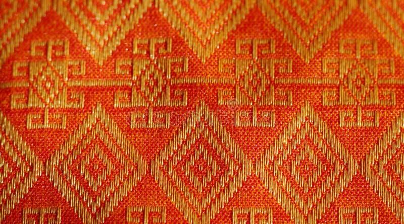 Materia textil de Tailandia stock de ilustración