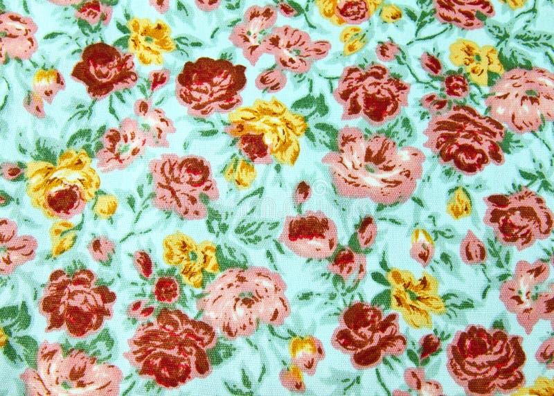 Materia textil del papel pintado de la flor stock de ilustración