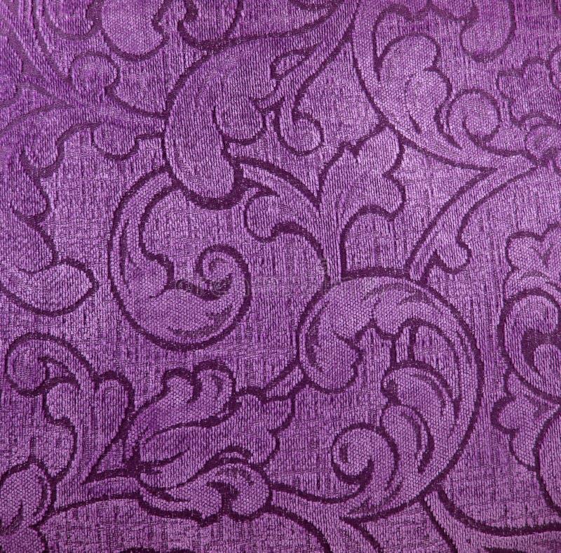 Materia textil púrpura imagen de archivo