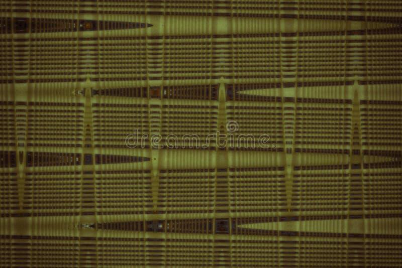 Materia textil ultra amarilla de Swatch, superficie granosa de la tela para la cubierta de libro, elemento de lino del diseño, te imagenes de archivo